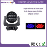 19*15W LED erhellen bewegliche Hauptstadiums-Lichter