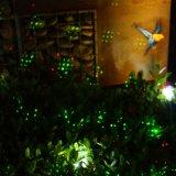 [هيغقوليتي] مسيكة عيد ميلاد المسيح [لسر ليغت] لأنّ خارجيّ حديقة زخرفة