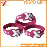 Bracelet chaud de silicones de type de mode de vente pour le cadeau promotionnel (YB-SM-08)
