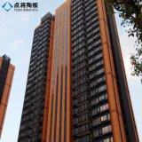 Fachada roja favorable al medio ambiente de la terracota del OEM para la decoración del edificio