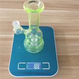 Handblown Bontek de haute qualité en verre borosilicaté percolateur tube droit Tall bol en verre de couleur de l'artisanat pour le verre de l'inventaire de cendrier fumer pipe à eau