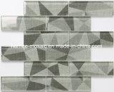 Cuisine gris Wall Tile Backsplash carreaux de mosaïque mosaïque décoration en verre