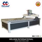 Cabeça única máquina de gravura plana CNC