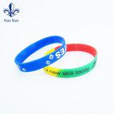 La bande caoutchouc personnalisée/bracelet en silicone pour la fête de Noël