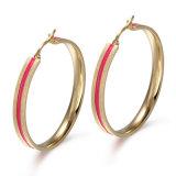Mode Bijoux en acier inoxydable de cadeaux de l'or Nouvelles femmes Earring