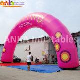 Festival de fournisseur de Guangzhou décorant la voûte Shaped ronde gonflable pour des ouvertures