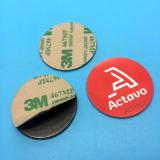 Modifica dell'autoadesivo del PVC Ntag213 NFC di numero del laser con lo strato di 3M
