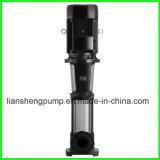 Pompe centrifuge à plusieurs étages verticale en gros d'acier inoxydable