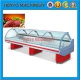 Congélateur électrique d'étalage de légume et de viande de nourriture