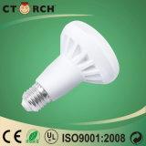 Lámpara LED SMD R80 10W con Ce y Rhos