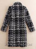 Capa larga de la ropa de las mujeres del diseñador de las lanas de moda del invierno para las mujeres