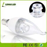 Lampadina della candela del lampadario a bracci 6W E14 110-240V 3000K-5800kled