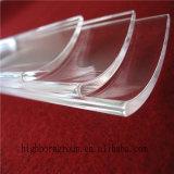 Placa de cristal de cuarzo del arco de la margarita