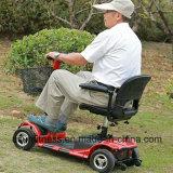 신체 장애자를 위한 접히는 4개의 바퀴 전기 스쿠터