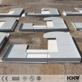 Grande superfície sólida artificial polaco Bancada de cozinha