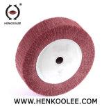 Rotella di lucidatura non tessuta aggressiva del nylon di alta qualità per il polacco dell'acciaio inossidabile