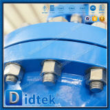 Запорная заслонка испытания API6d Pn100 Wcb Didtek 100%