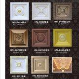 Polyurethan-quadratische Decke deckt PU-Decken-Rosette-Dekor Hn-B012 mit Ziegeln
