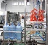 Tambor automático linha de produção de enchimento da água do frasco de 5 galões