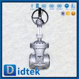 """Haste de aumentação 16 de Didtek de """" válvula de porta 150 classes com operador da engrenagem"""