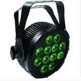 Levou 12X10W luz PAR RGBW Plana Fase 4-em-1
