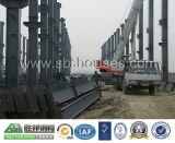Vertiente diseñada del edificio del almacén de la prefabricación de la estructura de acero