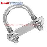 Nomialの直径20から500の管のためのDIN3570 U字型ボルト