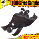 Выдвижение волос сырцовых человеческих волос малайзийское