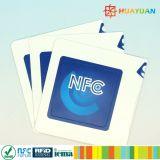 イベントのためのロゴの印刷スマートなRFID NTAG213 NFCのステッカー