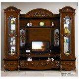 Tabella di legno di intrattenimento TV del salone domestico