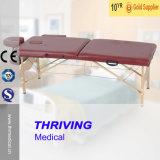 Vector plegable de madera portable del masaje (THR-WT003A)