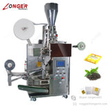 Macchina imballatrice interna ed esterna completamente automatica della bustina di tè
