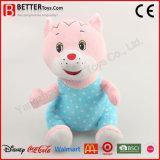Promotion bon marché animal en peluche Chat jouet en peluche pour Bébé doux