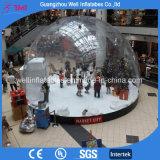 Tenda di mostra umana personalizzata della bolla del globo gonfiabile della neve di formato da vendere