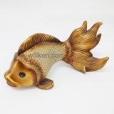 판매 예술 기술 Polyresin 최신 기술 열대 물고기 동상
