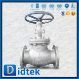 La bride de vapeur de prix bas de Didtek termine le robinet d'arrêt sphérique