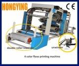Inverseur de vitesse de Contrôle et réglage 2 Couleur 4 Couleur Machine d'impression flexo
