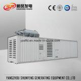 容器のタイプ625kVA 500kw無声Cumminsの電力のディーゼル発電機