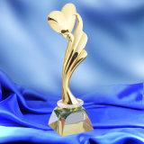 사례금이 까만 수정같은 기본적인 춤 경연 포상 컵 예술을%s 가진 심혼에 의하여 금속 트로피 Prix 형성된 De 로잔 포상에 의하여 일치한다