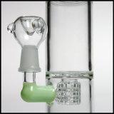2018 Novo Borbulhador Hookah Matrix Percs tubos de água de vidro