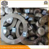 Junta de Composto de grafite usada para tubagens, válvulas, bombas, Vaso de pressão; Composto de grafite junta para Bump