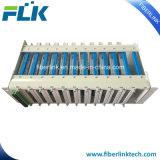 FTTX 3RU de fibra óptica de alta densidad de montaje en rack Patch Panel de distribución de Fibra Óptica de bastidor de la ODF