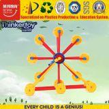 Belo bloco magnéticos 3D plástico Puzzle brinquedos educativos para tipos