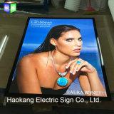 Slanke LEIDEN Backlit Licht Vakje voor Raad van het Teken van de Vertoning van de Omlijsting van Juwelen de Adverterende