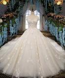 A Esfera Aoliweiya Beca Sweetheart longo comboio vestidos de casamento