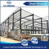 Construction préfabriquée d'atelier de bâti de structure métallique de modèle professionnel à vendre