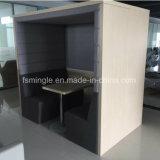 Réunion publique de luxe mobilier stand pour une zone commerciale de bureau