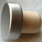 再使用可能な固体アルミニウムカバー総合的なコルクのふた