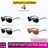 Um515 homens novos Óculos de sol de condução polarizada de moda