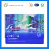 Kundenspezifische Cmyk Drucken-verpackende Papierkappe und Unterseiten-Schaukarton für Gesichtsschablonen-Produkte